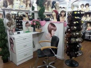 Salon-Booth